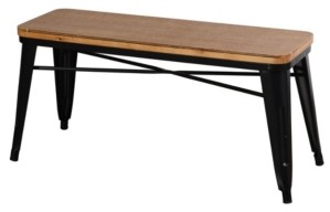 Stylecraft Metal and Wood Bench