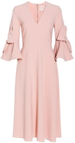 Roksanda Sibella Bow Sleeves Dress