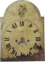 One Kings Lane Vintage English Hand-Painted Clock Face