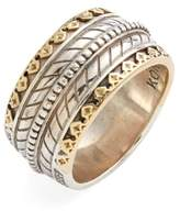 Konstantino Men's 'Orpheus' Carved Band Ring