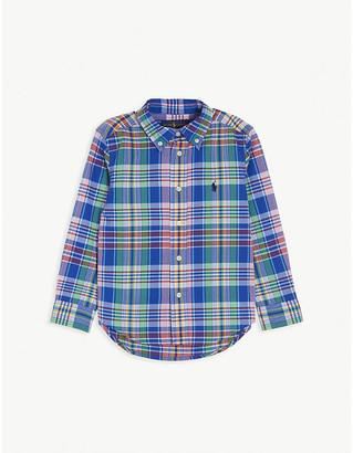 Ralph Lauren Check cotton shirt 2-14 years