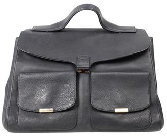 Victoria Beckham Black Leather Harper Tote