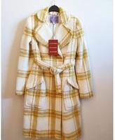 ALEXACHUNG Alexa Chung Yellow Wool Coats