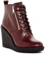 Marc by Marc Jacobs Kit Zip Lace Wedge Boot