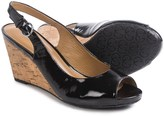 Gerry Weber Adelina 05 Wedge Sandals - Patent Leather (For Women)