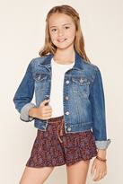 Forever 21 Girls Belted Shorts (Kids)