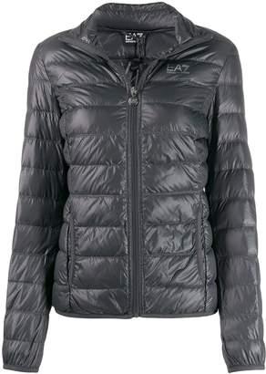 Emporio Armani Ea7 padded logo print jacket
