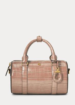 Ralph Lauren Leather Small Satchel