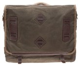 Will Leather Goods Men's 'Mt. Hood' Messenger Bag - Blue