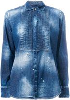 DSQUARED2 distressed denim shirt