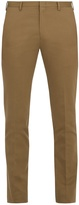 Paul Smith Slim-leg cotton-blend twill trousers
