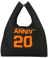 MM6 MAISON MARGIELA 'anniv 20' print tote - women - Cotton - One Size