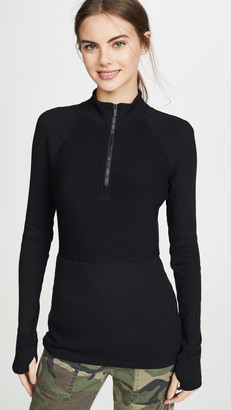 ALALA Rise Quarter Zip Sweater