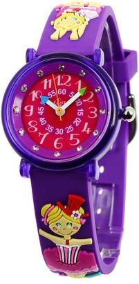 Baby Watch 3700230606153 Montre ZAP Trapeziste - Wristwatch Girl's Plastic Band Colour: Multicolour