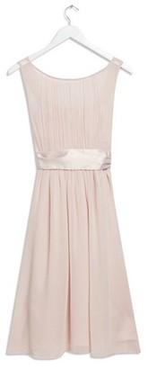 Dorothy Perkins Womens Showcase Petite Blush Behtany Bridesmaid Midi Dress