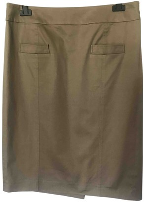 Kenzo Green Cotton Skirt for Women