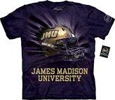The Mountain Men's James Madison U Jmu Helmet Bt Adult T-Shirt