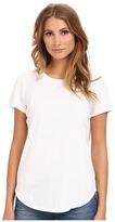 Michael Stars Dream Tees Short Sleeve Crew Neck Top Women's T Shirt