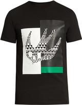 McQ by Alexander McQueen Masai Fair Isle Swallow-print cotton T-shirt