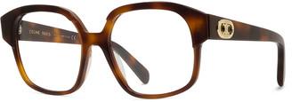 Celine Square Acetate Optical Glasses