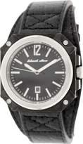 Black Dice Dice Men's Graduate BD-070-01 Leather Analog Quartz Watch