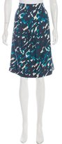Thakoon Printed Knee-Length Skirt