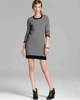 Joie Sweater Dress - Geralda Tweed Pattern
