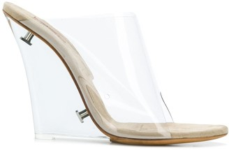 Yeezy Clear Strap Mules
