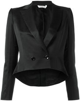 Tonello cropped dinner blazer - women - Cotton/Spandex/Elastane/Cupro/Viscose - 44