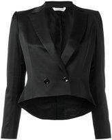 Tonello cropped dinner blazer - women - Cotton/Viscose/Spandex/Elastane/Cupro - 44