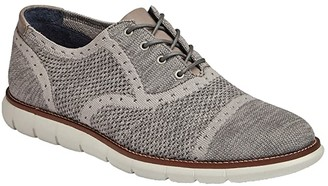 Johnston & Murphy Milson Knit Cap Toe (Dark Navy Knit) Men's Shoes