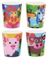 French Bull Farm Kids Juice Cups (Set of 4)