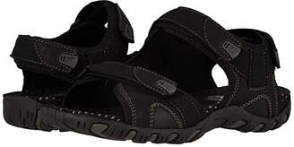 Nunn Bush Rio Bravo 3-Strap River Sandal (Black) Men's Sandals