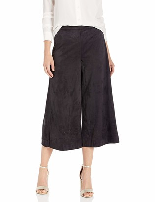 Lysse Women's Cass Faux Suede Cropped Pant