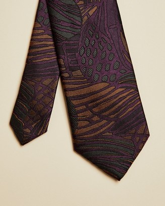 Ted Baker Abstract Floral Silk Tie