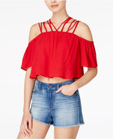 MinkPink Hotsprings Strappy Off-The-Shoulder Top