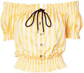 Caroline Constas embroidered blouse - women - Cotton - L