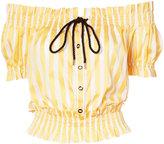 Caroline Constas embroidered blouse