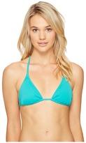 Echo Solid String Bikini Top II Women's Swimwear