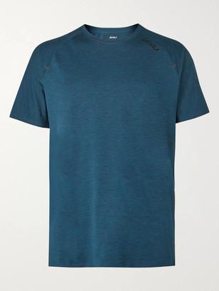 2XU X-Ctrl Perforated Melange Jersey T-Shirt