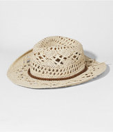 Express Crocheted Beaded Band Cowboy Hat