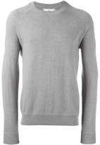 Ami Alexandre Mattiussi raglan sleeve sweater - men - Cotton - XS