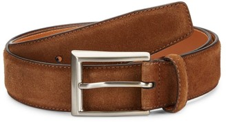 Saks Fifth Avenue COLLECTION BY MAGNANNI Suede Belt
