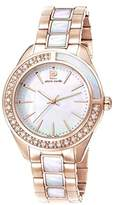 Pierre Cardin Neuilly Women's Quartz Watch with Mother Of Pearl Dial Analogue Display and Rose Gold Stainless Steel Bracelet PC106832S12