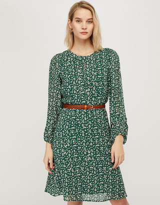 Under Armour Marty Printed Dress in Sustainable Viscose Green
