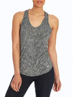 Bally Total Fitness Women's Active Mitered Singlet