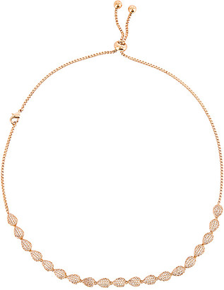 Ettika Crystal Adjustable Necklace