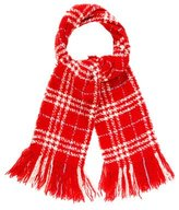 Burberry Cashmere Patterned Scarf