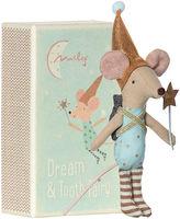 Maileg North America Tooth Fairy Boy w/ Box, Cream/Aqua