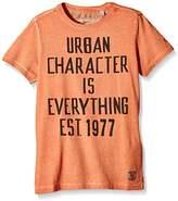 Garcia Kids Boy's Short Sleeve T-Shirt - Orange -
